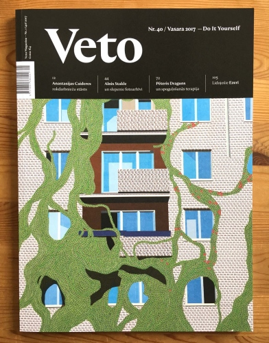 VETO magazine Vol 40, cover photo: Shared Blanket by Marta Veinberga